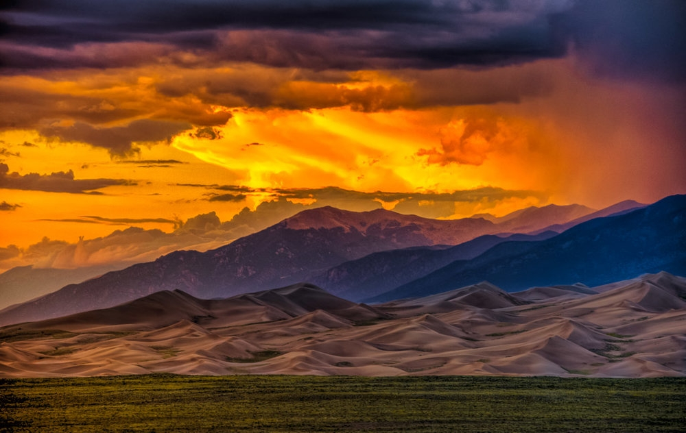 SandDunes Sunset