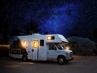 Night RV Camp