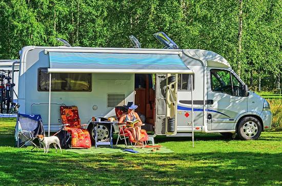 Alamosa RV Park Trailer